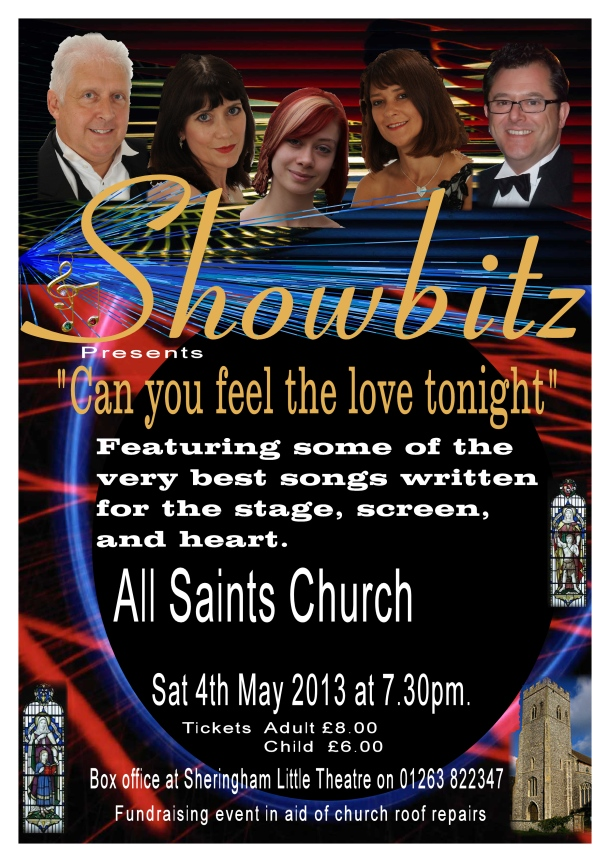 Sheringham church poster first draft 2013