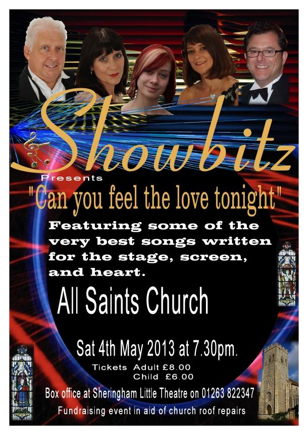 Sheringham church poster first draft 2013